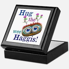 Hug The Wee Haggis Keepsake Box