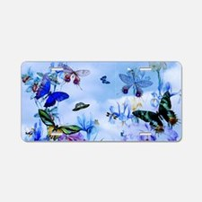 Take Flight B'fly Orchids B Aluminum License Plate