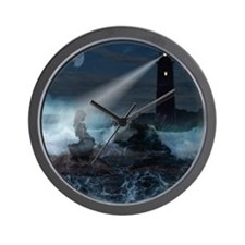 The sirene lighthouse Wall Clock