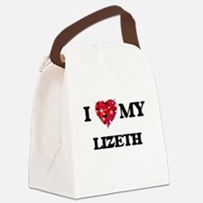 I love my Lizeth Canvas Lunch Bag