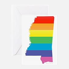 mississippi pride Greeting Cards