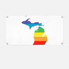 michigan rainbow Banner