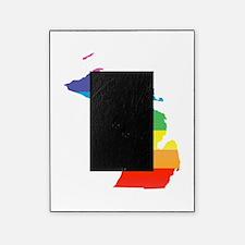 michigan rainbow Picture Frame