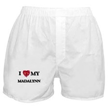 I love my Madalynn Boxer Shorts