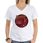 Metamorphosis Women's V-Neck T-Shirt