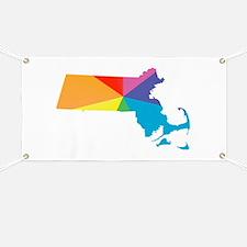 massachusetts rainbow Banner
