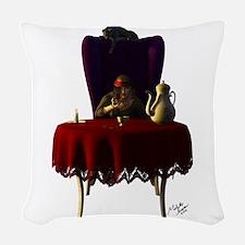 Gypsy Tea Woven Throw Pillow