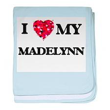 I love my Madelynn baby blanket