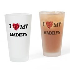 I love my Madilyn Drinking Glass