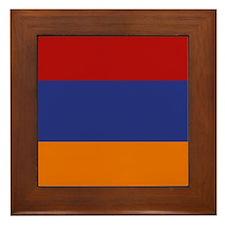 """""""Armenia Flag"""" Framed Tile"""