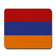 """Armenia Flag"" Mousepad"