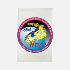 HTV-1 Program Logo Rectangle Magnet