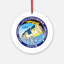Program Logo of HTV-2 Ornament (Round)