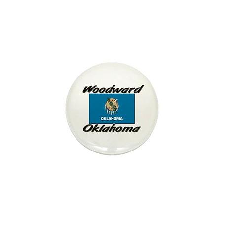 Woodward Oklahoma Mini Button