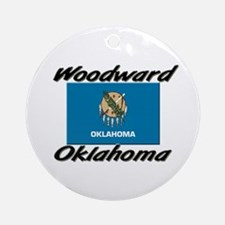 Woodward Oklahoma Ornament (Round)