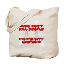 Funny Kill the can Tote Bag