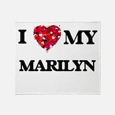 I love my Marilyn Throw Blanket