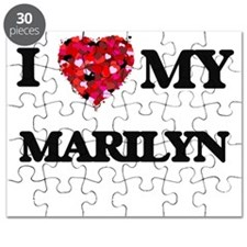 I love my Marilyn Puzzle