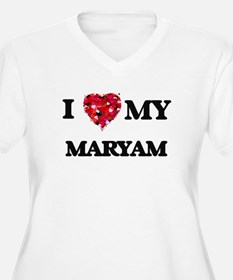I love my Maryam Plus Size T-Shirt