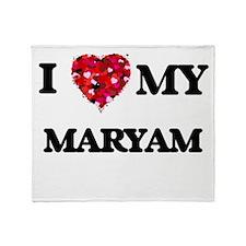 I love my Maryam Throw Blanket