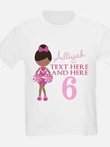 Custom Cheerleader T-Shirt