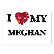 I love my Meghan Postcards (Package of 8)