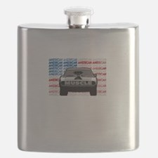 Street Racing American Muscle Flask