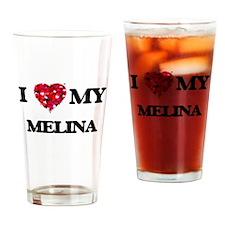 I love my Melina Drinking Glass