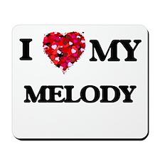 I love my Melody Mousepad