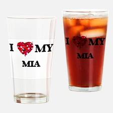 I love my Mia Drinking Glass