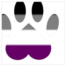 Ace Pride Paw Poster