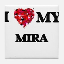 I love my Mira Tile Coaster