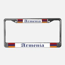 """Armenia Flag"" License Plate Frame"