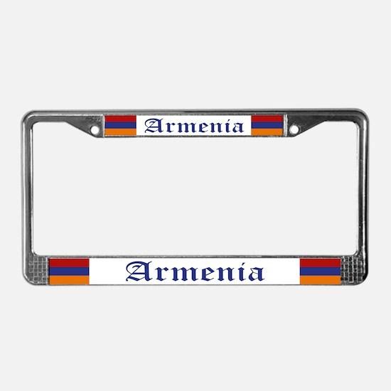 """Armenia Flag"" License Plate Frame"