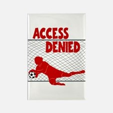 ACCESS DENIED Rectangle Magnet