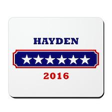 Hayden 2016 Mousepad