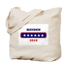 Hayden 2016 Tote Bag