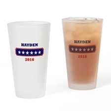 Hayden 2016 Drinking Glass