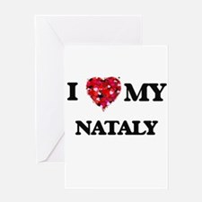 I love my Nataly Greeting Cards