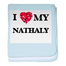I love my Nathaly baby blanket