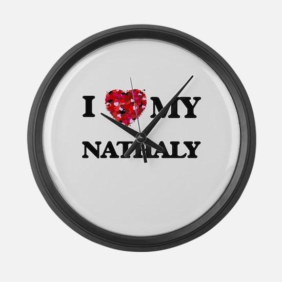 I love my Nathaly Large Wall Clock