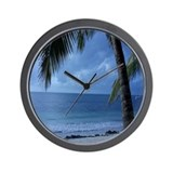 Beach theme Basic Clocks