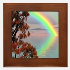 Rainbow Beach Framed Tile