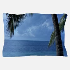 Palm Tree Beach Pillow Case