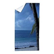 Palm Tree Beach Beach Towel