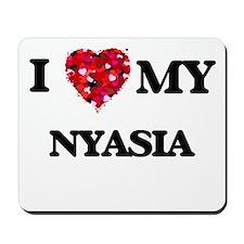 I love my Nyasia Mousepad