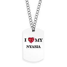I love my Nyasia Dog Tags