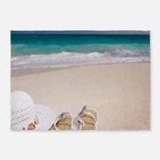 Relaxing Beach 5'x7'Area Rug