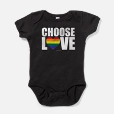 Choose Love Baby Bodysuit