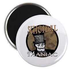 """Suicidal Maniac 2.25"""" Magnet (100 pack)"""